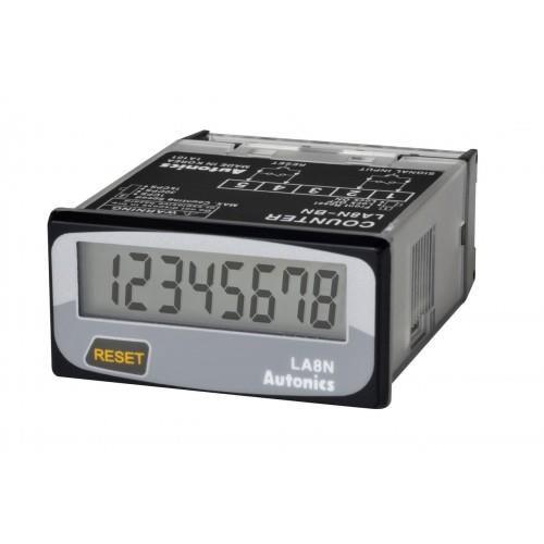 Bộ đếm LCD, Chỉ hiển thị ( loại non volt ) LA8N-BN Autonics