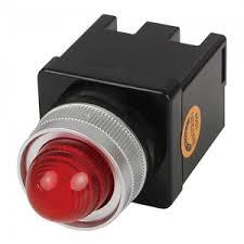 Đèn báo led phi 25 (100-240v) màu đỏ CR-252-A0-R Hanyoung